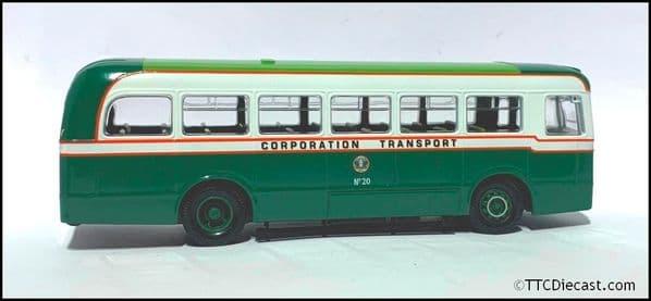 CORGI 97018 AEC REGAL IV (WEYMANN BODY) - Dundee * PRE OWNED *